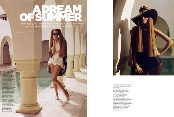 Vogue UK, June 2007
