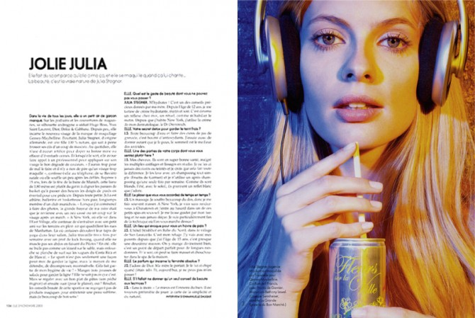 Elle France, December 2008